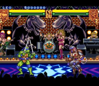 اسکرین شات بازی لاکپشتهای نینجا-تورنمنت 1