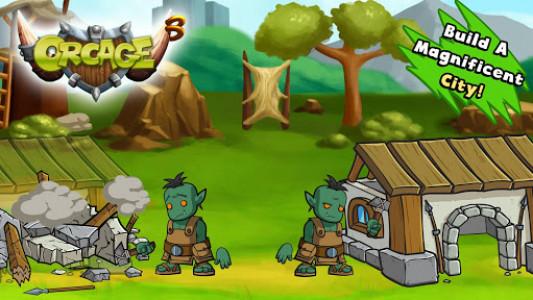 اسکرین شات بازی OrcAge: Horde Strategy! 2
