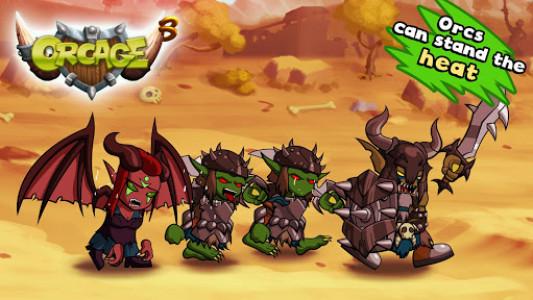 اسکرین شات بازی OrcAge: Horde Strategy! 3