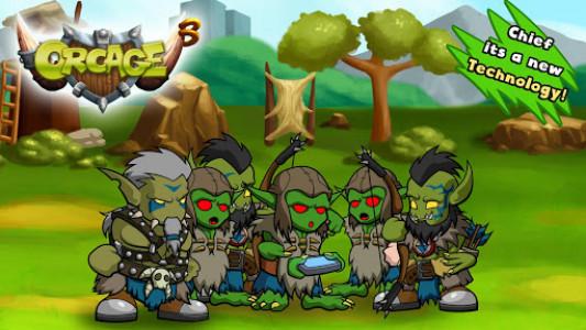 اسکرین شات بازی OrcAge: Horde Strategy! 6