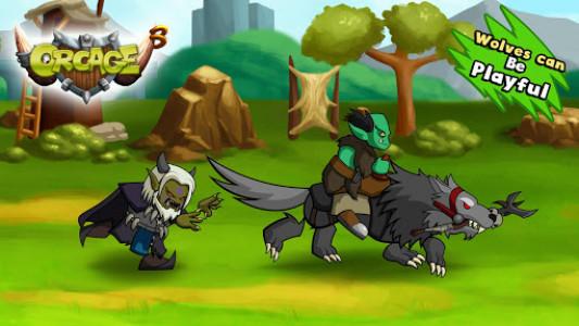 اسکرین شات بازی OrcAge: Horde Strategy! 4