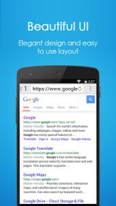 اسکرین شات برنامه Navi Browser 🔍 - Fast Internet 3