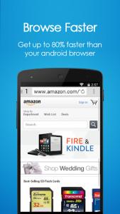 اسکرین شات برنامه Navi Browser 🔍 - Fast Internet 1