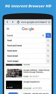 اسکرین شات برنامه 9G Speed Up Internet: Browser For Android Free 3