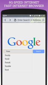 اسکرین شات برنامه 8G Fast Internet Browser - High Speed Up Internet 2