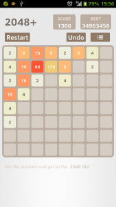 اسکرین شات بازی 2048 Plus 3