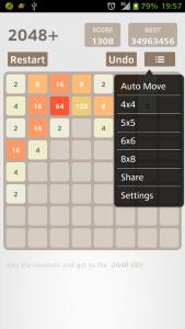 اسکرین شات بازی 2048 Plus 5