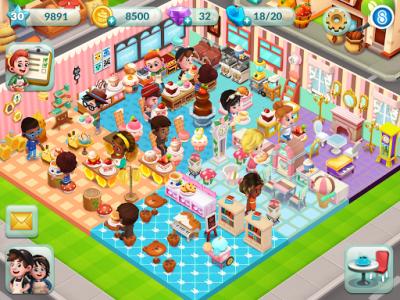 اسکرین شات بازی Bakery Story 2 6