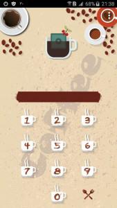 اسکرین شات برنامه تم قفل سو - Coffee 3