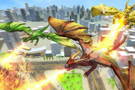 اسکرین شات برنامه Ultimate Dragon Robot Transform Battle War Game 6