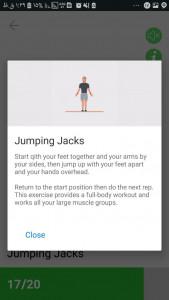 اسکرین شات برنامه ورزش بدنسازی - فیتنس و بدنسازی تناسب اندام 3