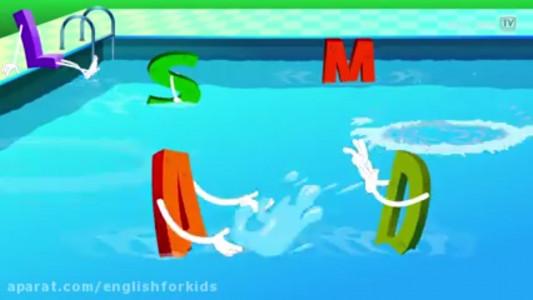 اسکرین شات برنامه آموزش زبان انگلیسی برای کودکان 1