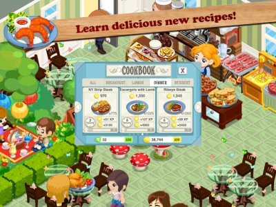 اسکرین شات بازی Restaurant Story™ 6