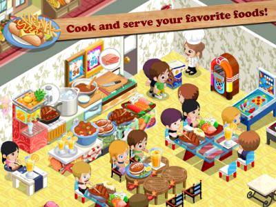 اسکرین شات بازی Restaurant Story™ 3