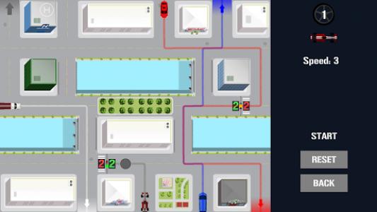 اسکرین شات بازی Traffic Control Puzzle - City Driving 2