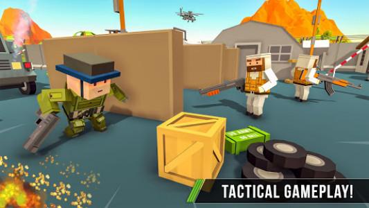 اسکرین شات بازی Blocky Army Base:Modern War Critical Action Strike 4
