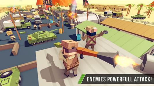اسکرین شات بازی Blocky Army Base:Modern War Critical Action Strike 2