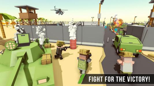 اسکرین شات بازی Blocky Army Base:Modern War Critical Action Strike 5