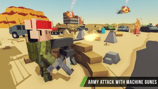 اسکرین شات بازی Blocky Army Base:Modern War Critical Action Strike 3