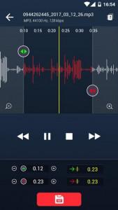 اسکرین شات برنامه MP3 Cutter and Ringtone Maker 1