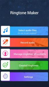 اسکرین شات برنامه MP3 Cutter and Ringtone Maker 3