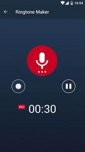 اسکرین شات برنامه MP3 Cutter and Ringtone Maker 5