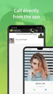 اسکرین شات برنامه Messaging Classic 4