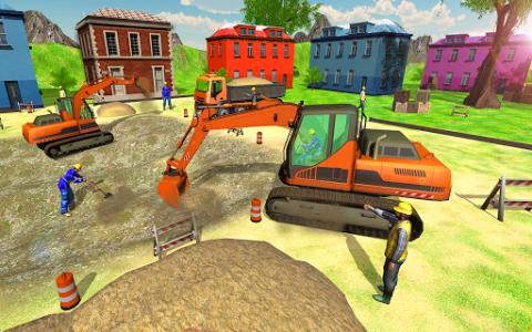 اسکرین شات بازی New Heavy Excavator Simulator:Excavator Games 2020 8