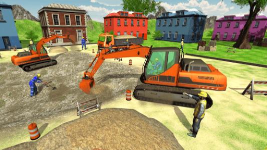 اسکرین شات بازی New Heavy Excavator Simulator:Excavator Games 2020 3