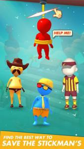 اسکرین شات بازی Rope Cut - Rescue Hero 5
