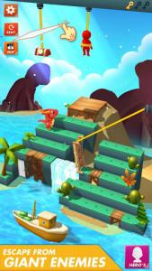 اسکرین شات بازی Rope Cut - Rescue Hero 2