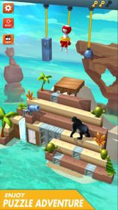 اسکرین شات بازی Rope Cut - Rescue Hero 3
