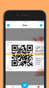 اسکرین شات برنامه QR code reader - QR code & barcode scanner 1