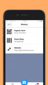 اسکرین شات برنامه QR code reader - QR code & barcode scanner 5