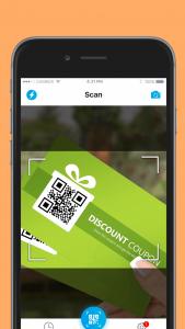 اسکرین شات برنامه QR code reader - QR code & barcode scanner 3
