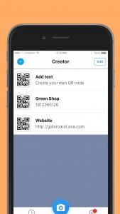 اسکرین شات برنامه QR code reader - QR code & barcode scanner 7