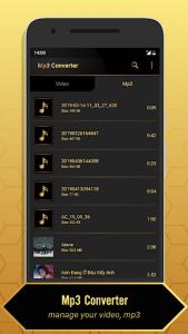 اسکرین شات برنامه MP3 Video Converter 6