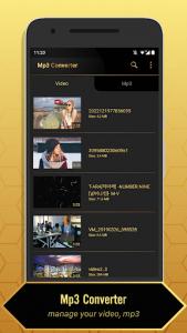 اسکرین شات برنامه MP3 Video Converter 1