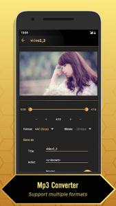 اسکرین شات برنامه MP3 Video Converter 2