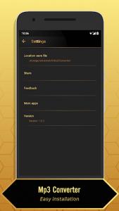 اسکرین شات برنامه MP3 Video Converter 5