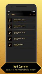 اسکرین شات برنامه MP3 Video Converter 7