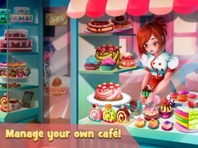 اسکرین شات بازی Dessert Chain: Café Waitress & Restaurant Chef 4