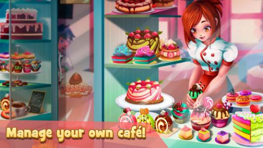 اسکرین شات بازی Dessert Chain: Café Waitress & Restaurant Chef 7