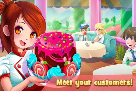 اسکرین شات بازی Dessert Chain: Café Waitress & Restaurant Chef 2