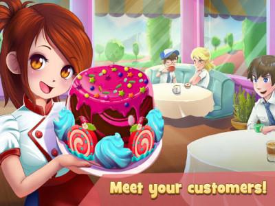 اسکرین شات بازی Dessert Chain: Café Waitress & Restaurant Chef 5