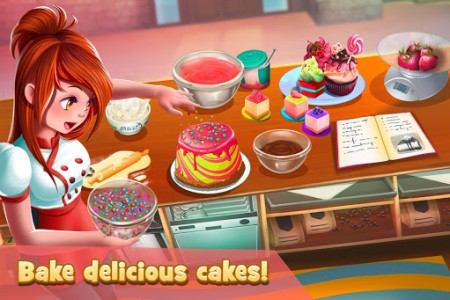 اسکرین شات بازی Dessert Chain: Café Waitress & Restaurant Chef 3