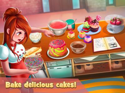 اسکرین شات بازی Dessert Chain: Café Waitress & Restaurant Chef 6