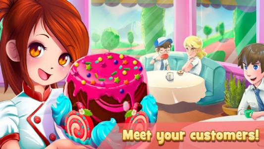 اسکرین شات بازی Dessert Chain: Café Waitress & Restaurant Chef 8