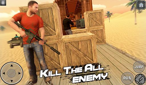 اسکرین شات بازی Indian Train Shooting- New Train Robbery Game 2k20 7