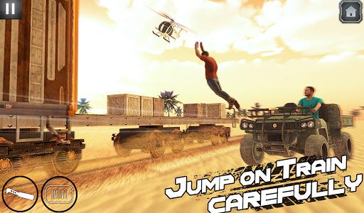 اسکرین شات بازی Indian Train Shooting- New Train Robbery Game 2k20 6